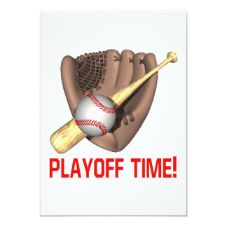 Playoff Time Card
