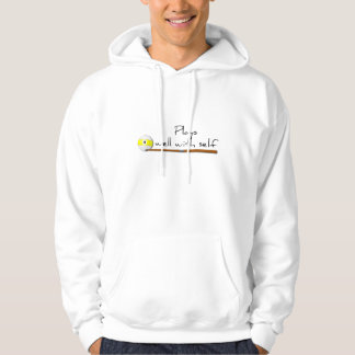 Plays Well Funny Hoodie