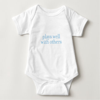 Plays Well With Others Baby T Baby Bodysuit