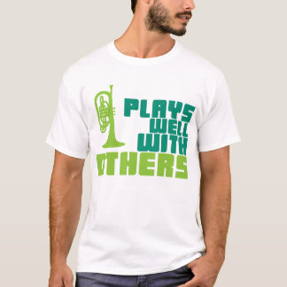 Plays Well with Others - Mellophone T-Shirt