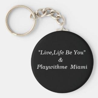 Playwithme Miami Key Ring