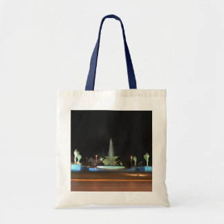 Plaza Caracol Fountain, Cancun Tote Bag