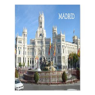 Plaza de Cibeles, Madrid Magnetic Invitations