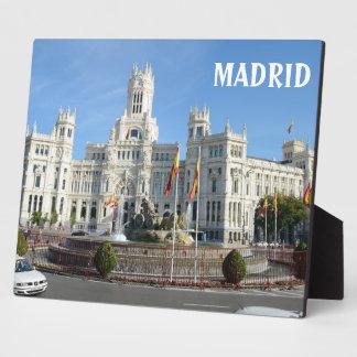 Plaza de Cibeles, Madrid Plaque