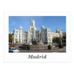 Plaza de Cibeles, Madrid Postcard