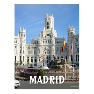 Plaza de Cibeles, Madrid Postcard