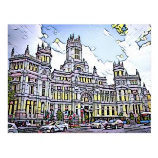 Plaza de Cibeles Postcard