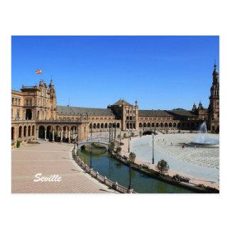 Plaza de España, Sevilla Postcard