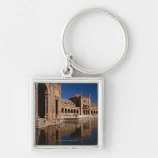 Plaza de Espana, Seville, Spain Key Ring