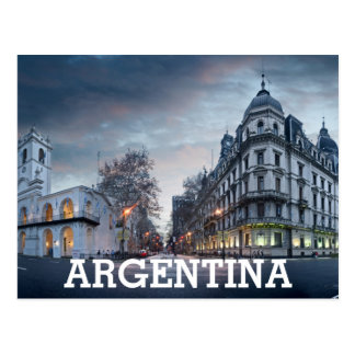 Plaza De Mayo Square Postcard