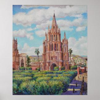Plaza en San Miguel de Allende Print