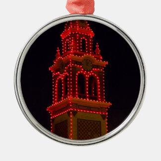 Plaza Lights Of Kansas City! Silver-Colored Round Decoration
