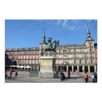 Plaza Mayor, Madrid Photo Print