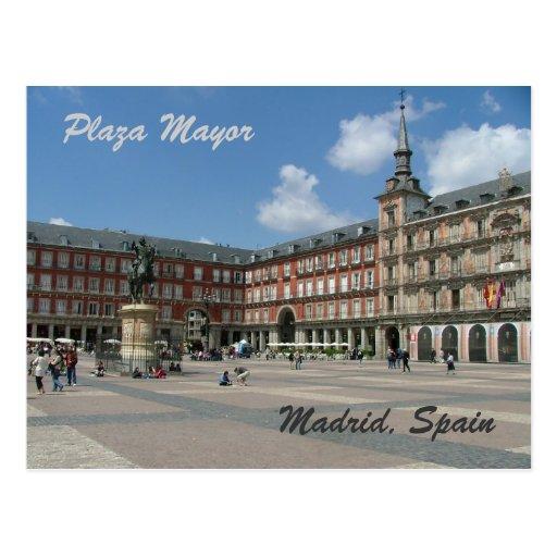 Plaza Mayor Post Cards