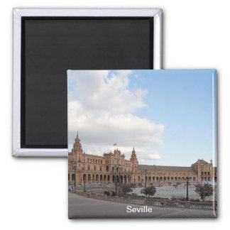 Plaza of Spain in Seville Magnet