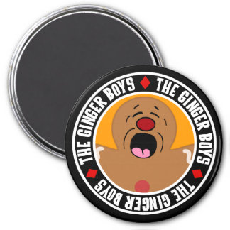 Pleading Gingerbread Man Cookie 7.5 Cm Round Magnet