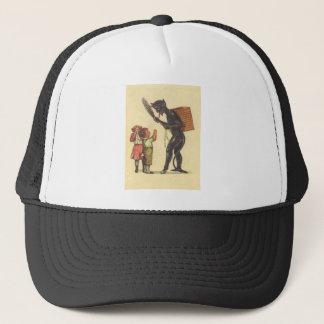 Pleading With Krampus Trucker Hat