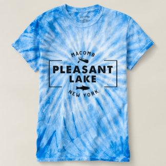 Pleasant Lake Blue Men's Tie-Dye T-Shirt