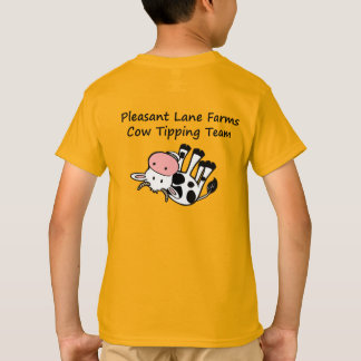 Pleasant Lane Farms Cow Tipping Team T-Shirt