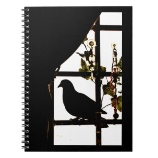 Pleasant Pigeon Spiral Notebook