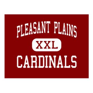Pleasant Plains - Cardinals - Pleasant Plains Post Card