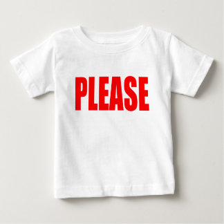 please asking permission cherry ontop husband wife baby T-Shirt