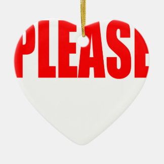 please asking permission cherry ontop husband wife ceramic heart decoration