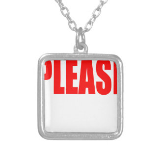 please asking permission cherry ontop husband wife silver plated necklace