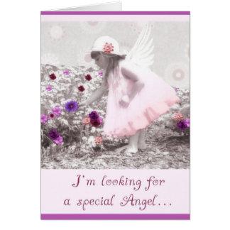 please be my flowergirl card