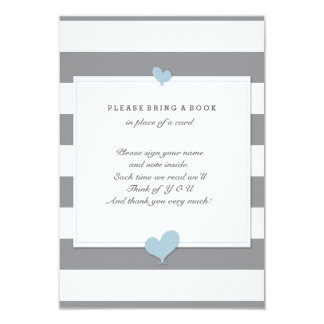 Please Bring A Book Baby Shower Enclosure Card