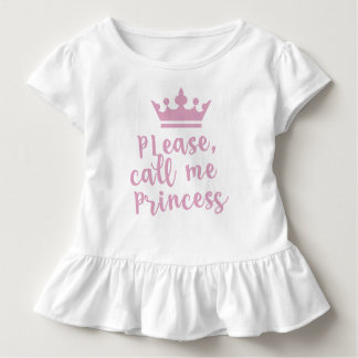 Please Call Me Princess Toddler T-Shirt