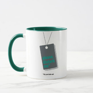 Please, disturb me* - text personnalisable mug
