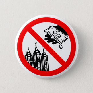 Please Don't Feed the Church Button