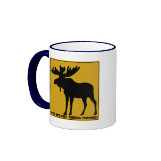 Please Drive Safely,  Traffic Sign, Canada Mug