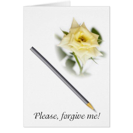 Please, forgive me card