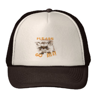 Please Go Away Hat