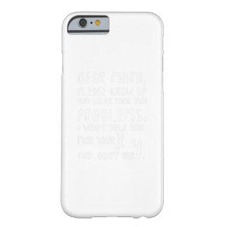 Please Grow Up And Solve Pi Day Math Gift Shirts Barely There iPhone 6 Case