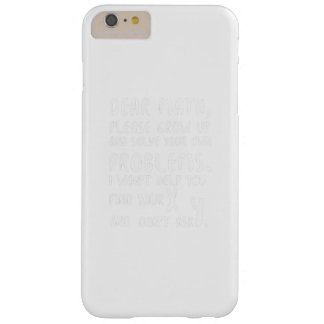 Please Grow Up And Solve Pi Day Math Gift Shirts Barely There iPhone 6 Plus Case