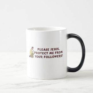 Please Jesus Christian Humor Mug