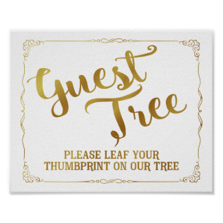 please leaf your thumbprint on our tree guest book