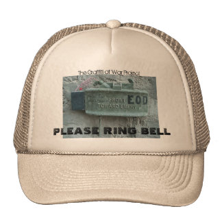 PLEASE RING BELL, The Graffi... Cap