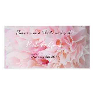 Please save the date customised photo card