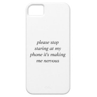 please stop iPhone 5 cover