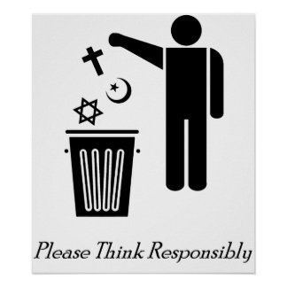 Please Think Responsibly Poster