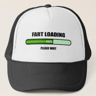 Please Wait Fart Now Loading Trucker Hat