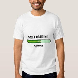 Please Wait Fart Now Loading Tshirt