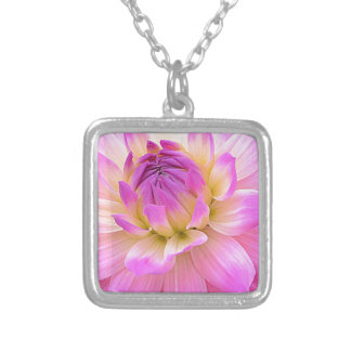 Pleasing Purple Silver Plated Necklace