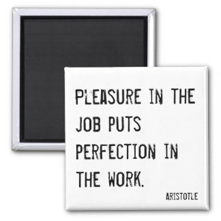 Pleasure in the job motivating magnet