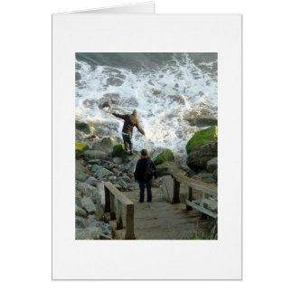 Pleasure Point, Santa Cruz California Card