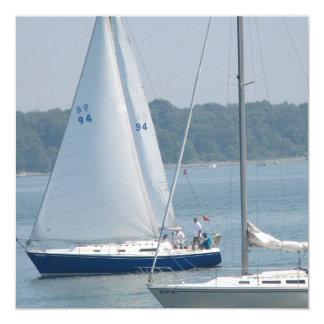 Pleasure Sail Invitations